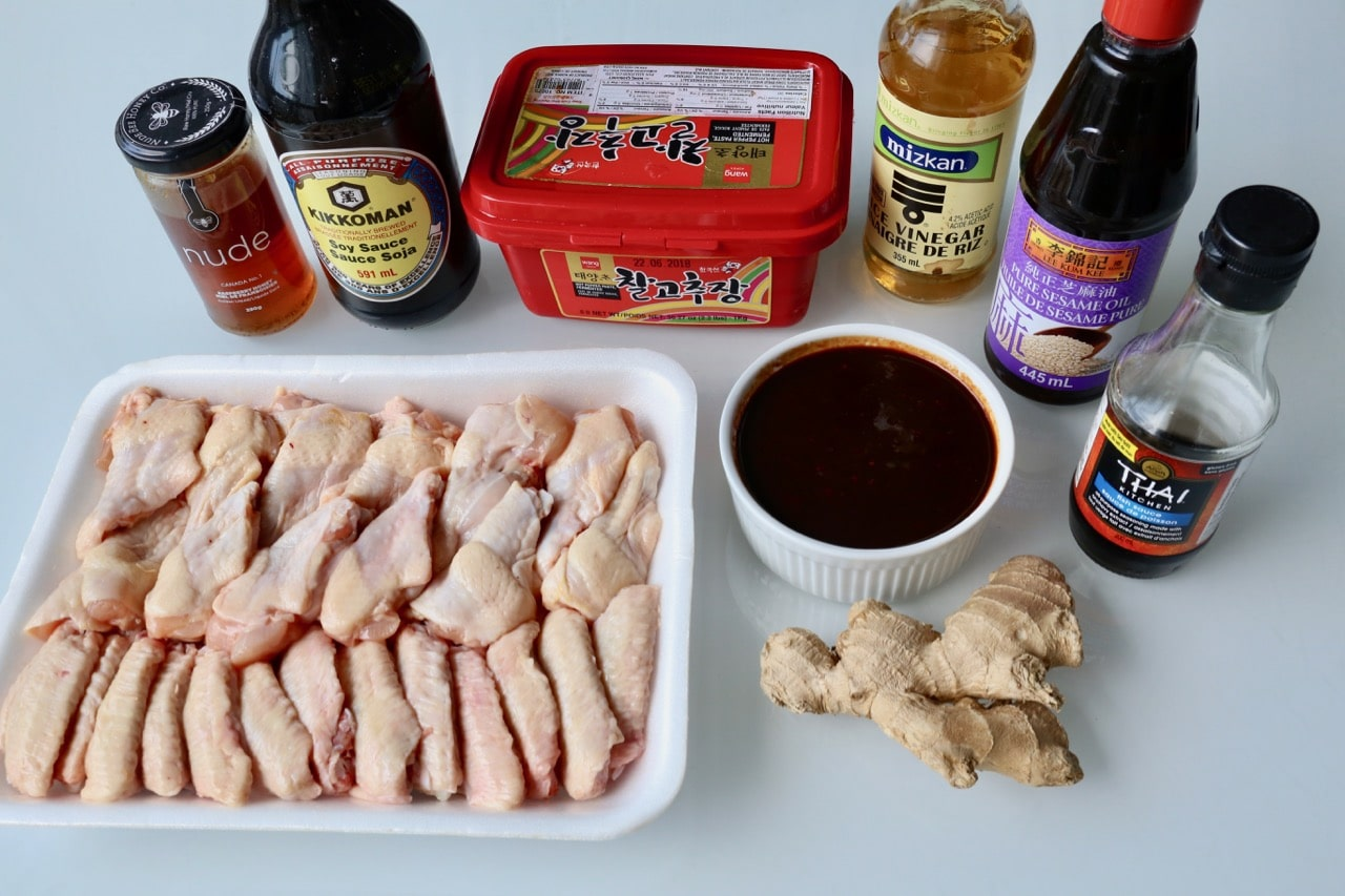 Ingredients you'll need to prepare our Gochujang Chicken Recipe.