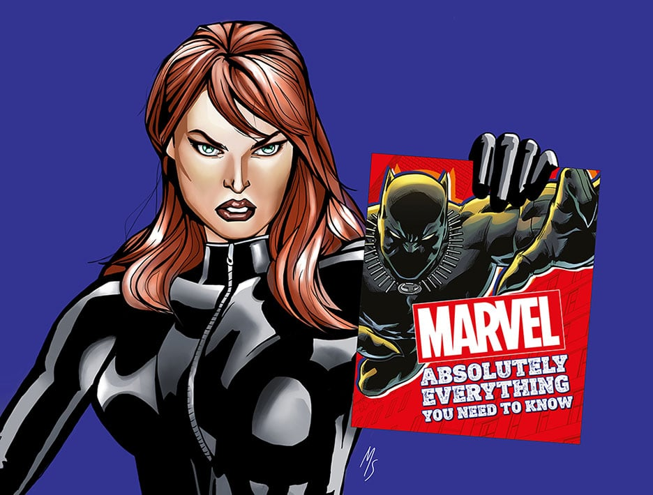 Marvel: Absolutely Everything You Need to Know by DK Publishing.
