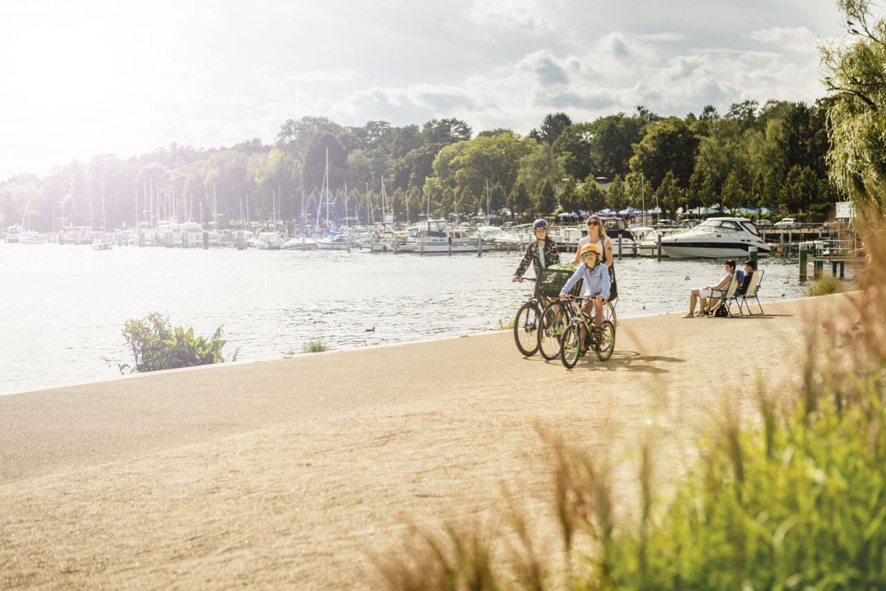 Wannsee is the quickest and closest day trips from Berlin.