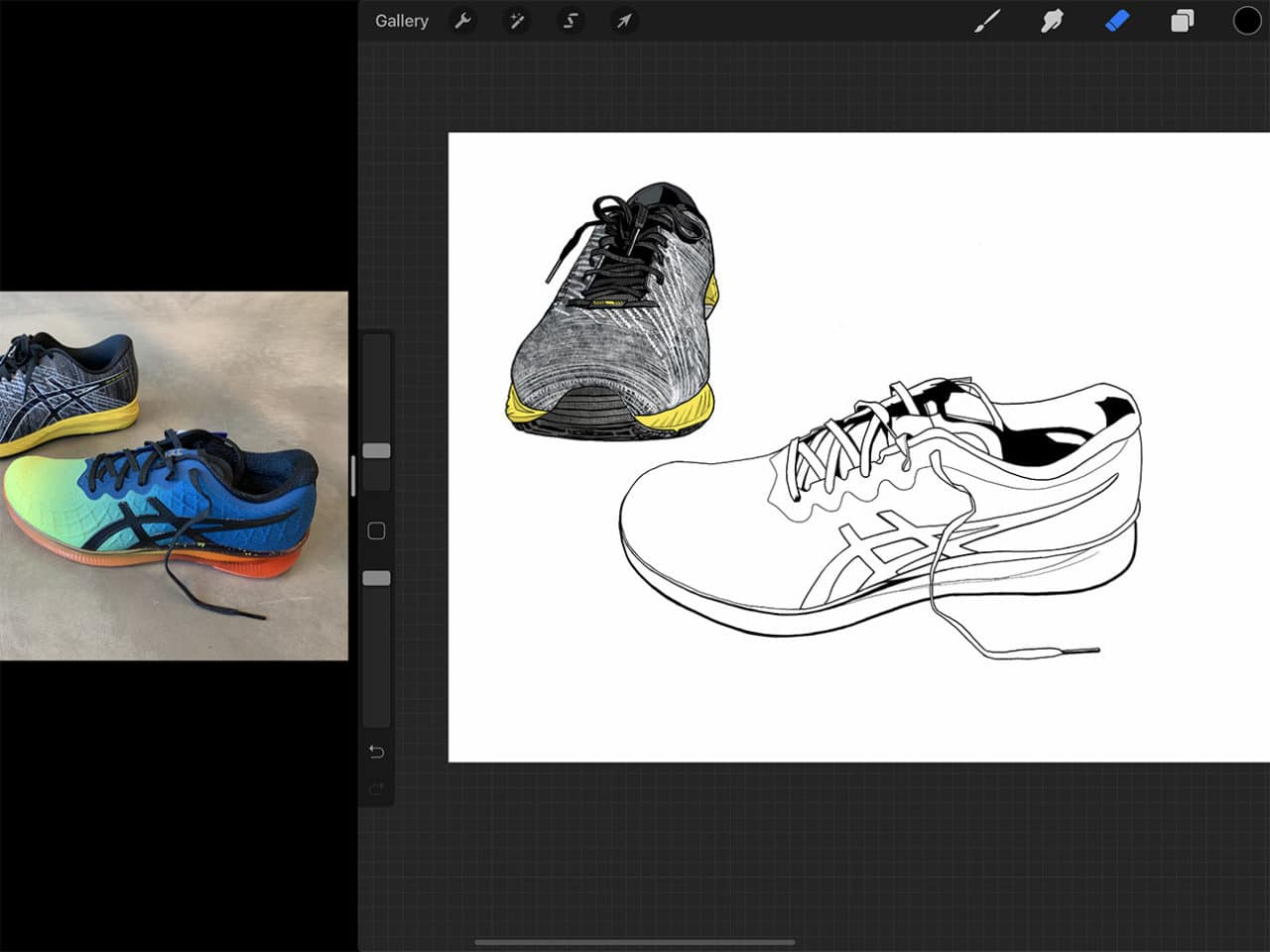 Procreate tutorial: Drawing on iPad Pro opens up a world of new colouring possibilities.