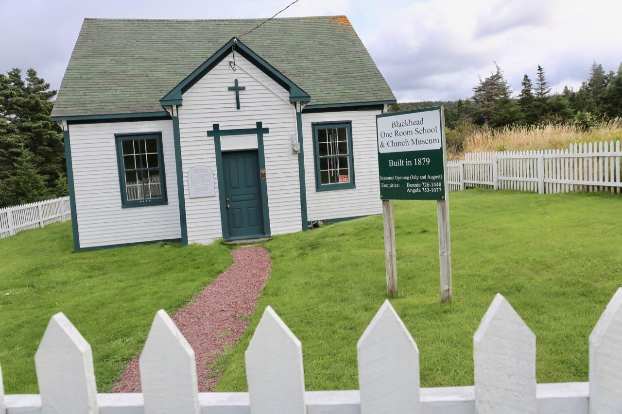 History buffs love visiting the quaint Blackhead One Room School.