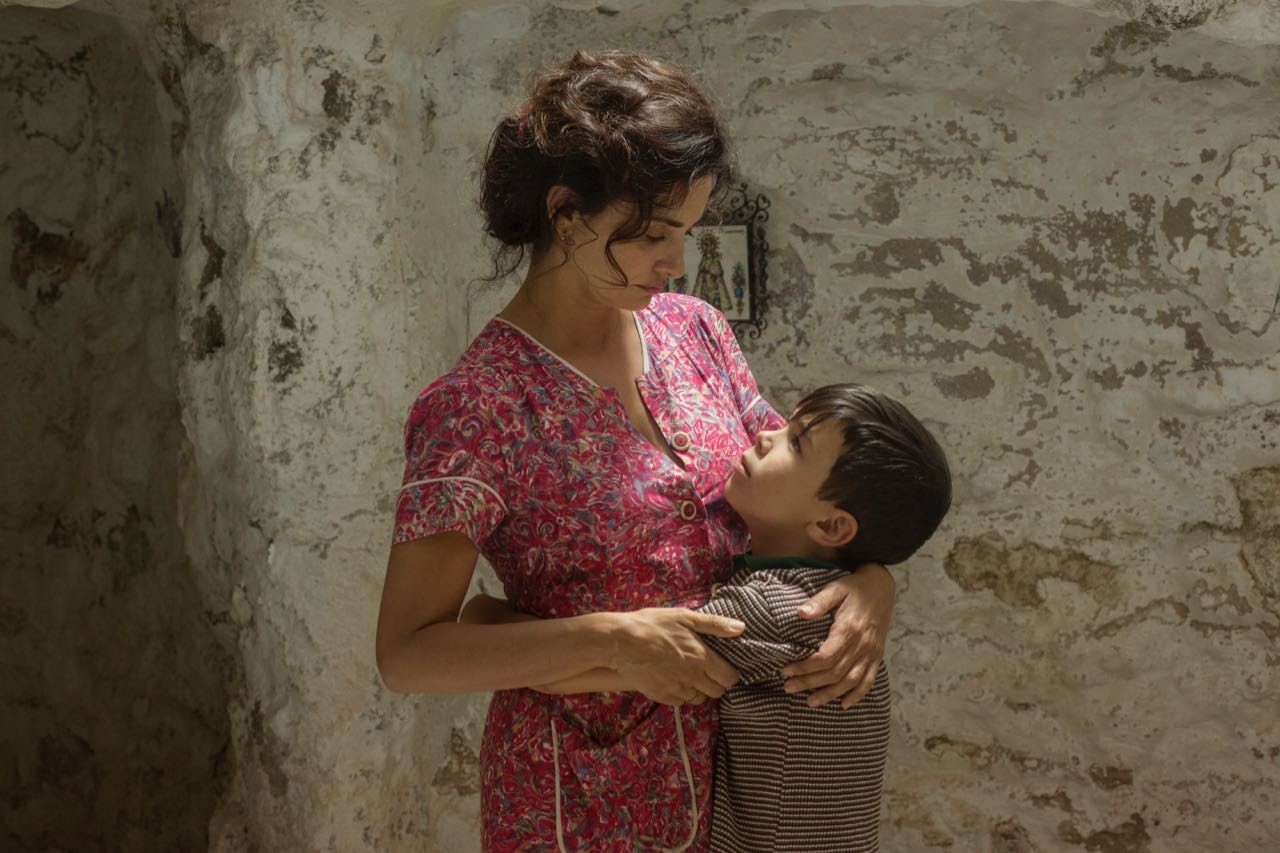 Penélope Cruz plays the protagonist's young mother in Pain and Glory.