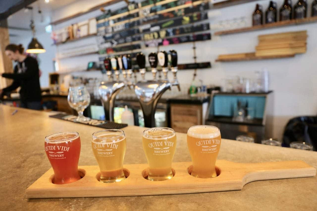 Newfoundland and Labrador's largest craft brewery is Quidi Vidi Brewing Company.