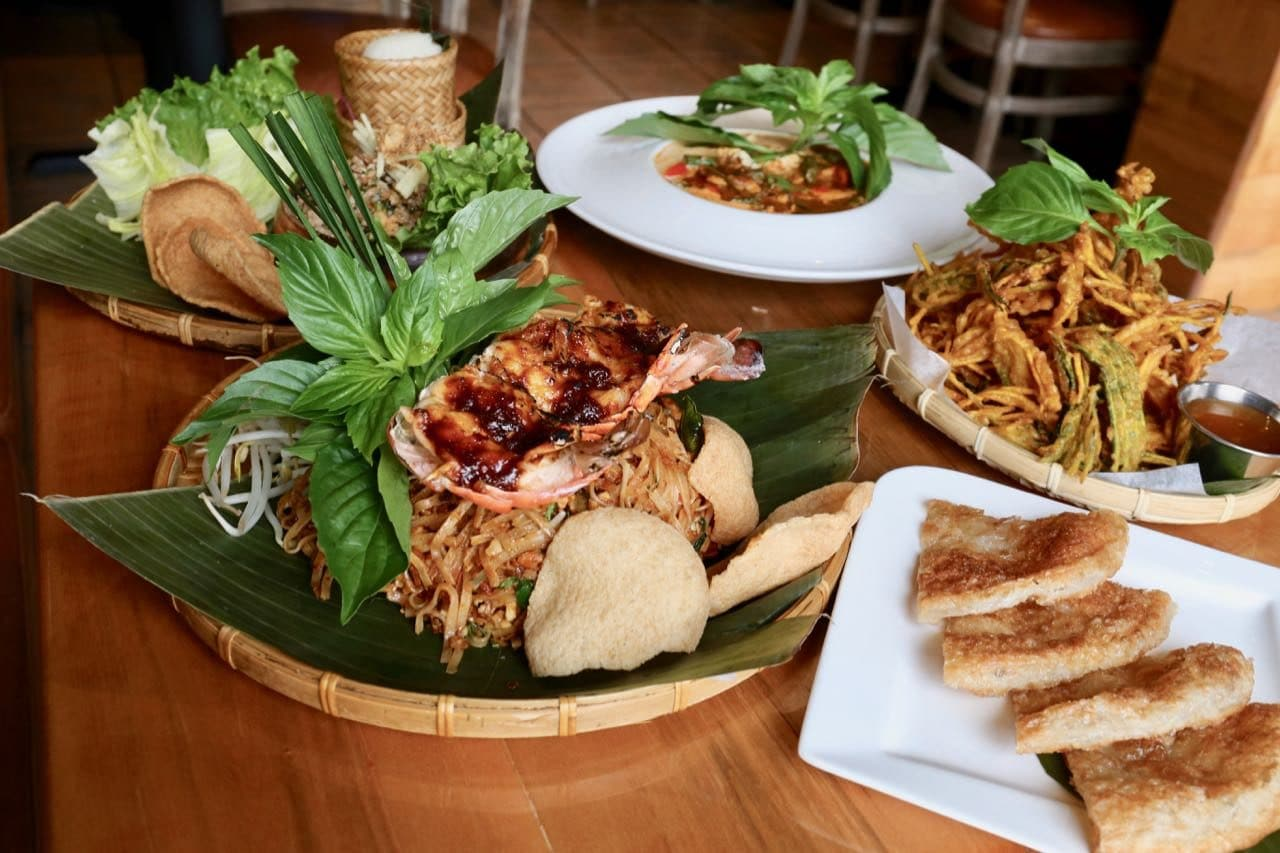 Toronto Thai Restaurants: Sala Modern Kitchen is located on Danforth Avenue.