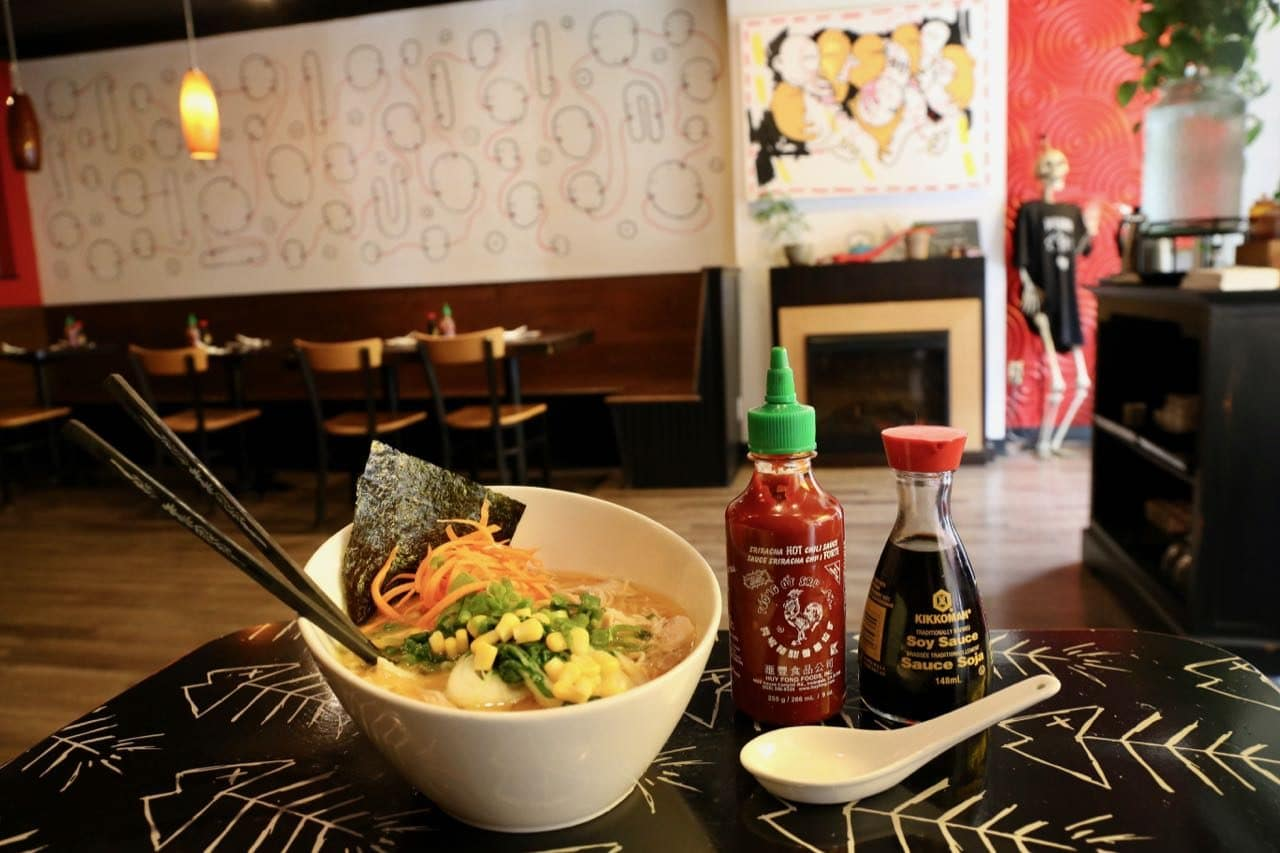 Get your Japanese noodle fix at Bad Bones Ramen.