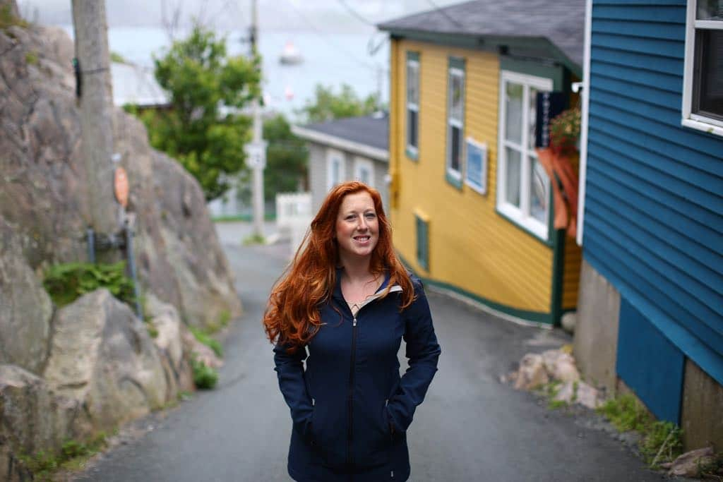 Travel writer Candice Walsh enjoys a stroll in her hometown of St. John's, Newfoundland.