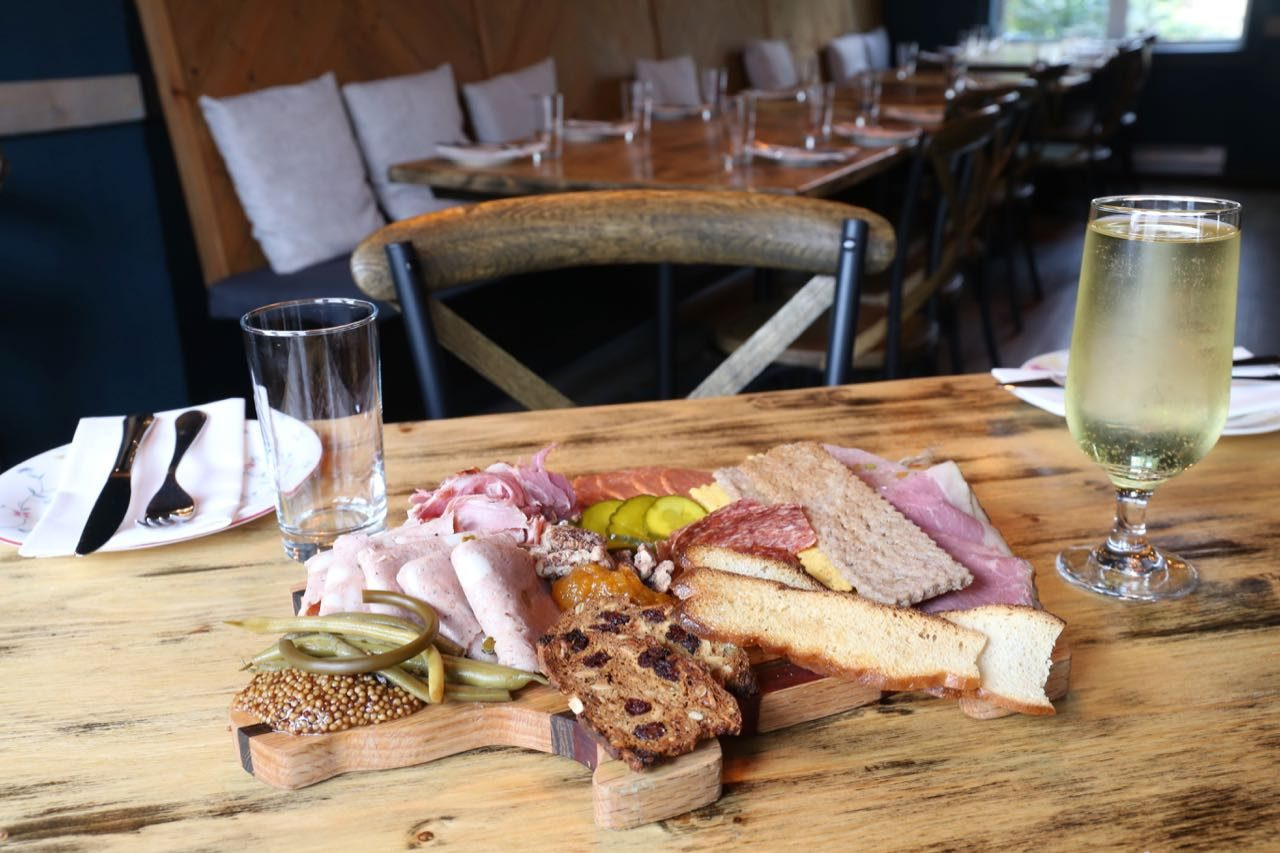 Restaurants in St. John's Newfoundland: Visit Chinched Bistro to enjoy charcuterie and local cider.