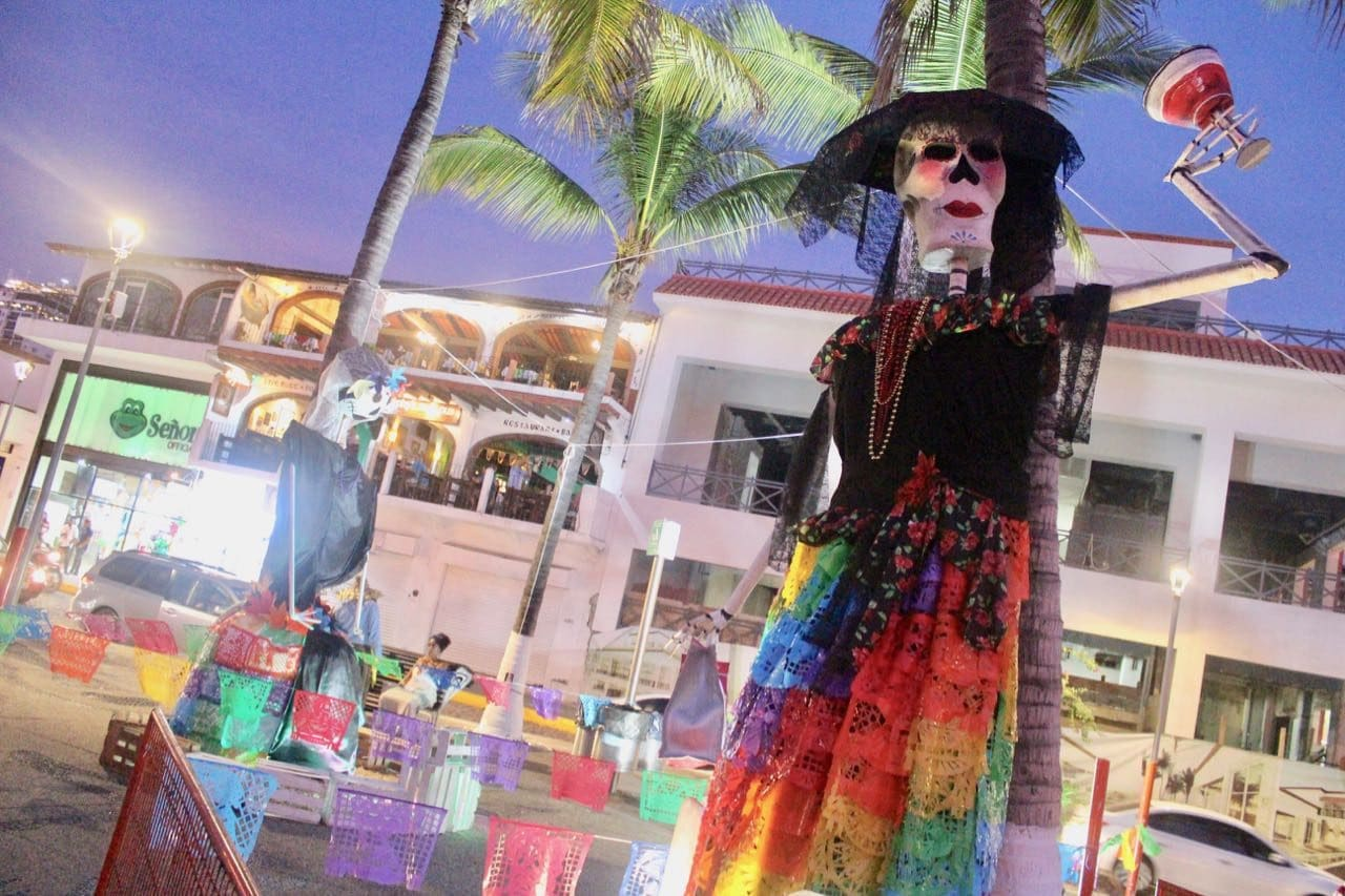 Visit gay Puerto Vallarta during the annual Day of the Dead Festival in November.