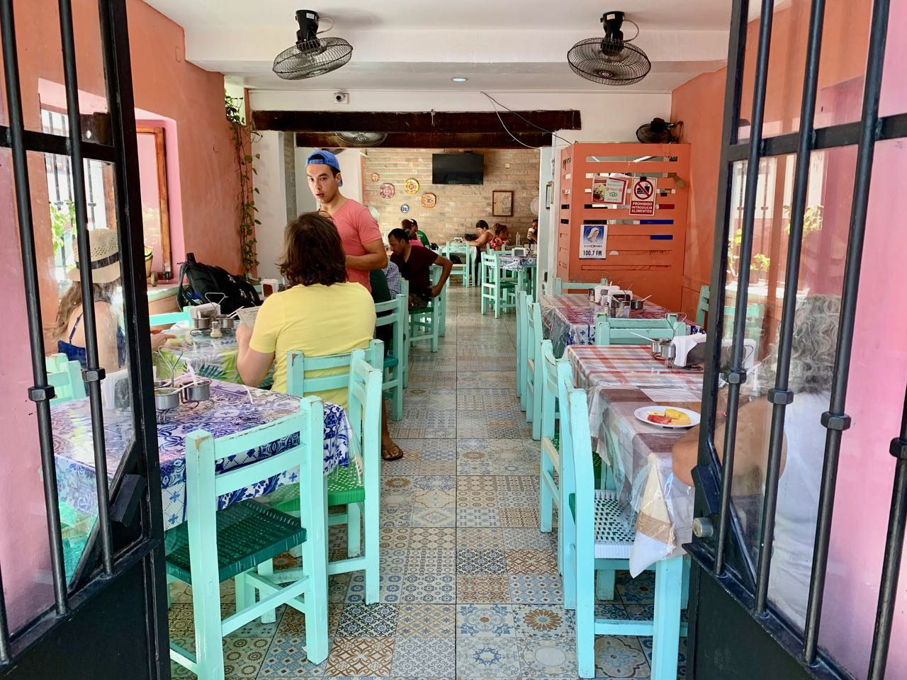 El Campanario is the best place to eat tacos in Puerto Vallarta near Church of Our Lady of Guadalupe.