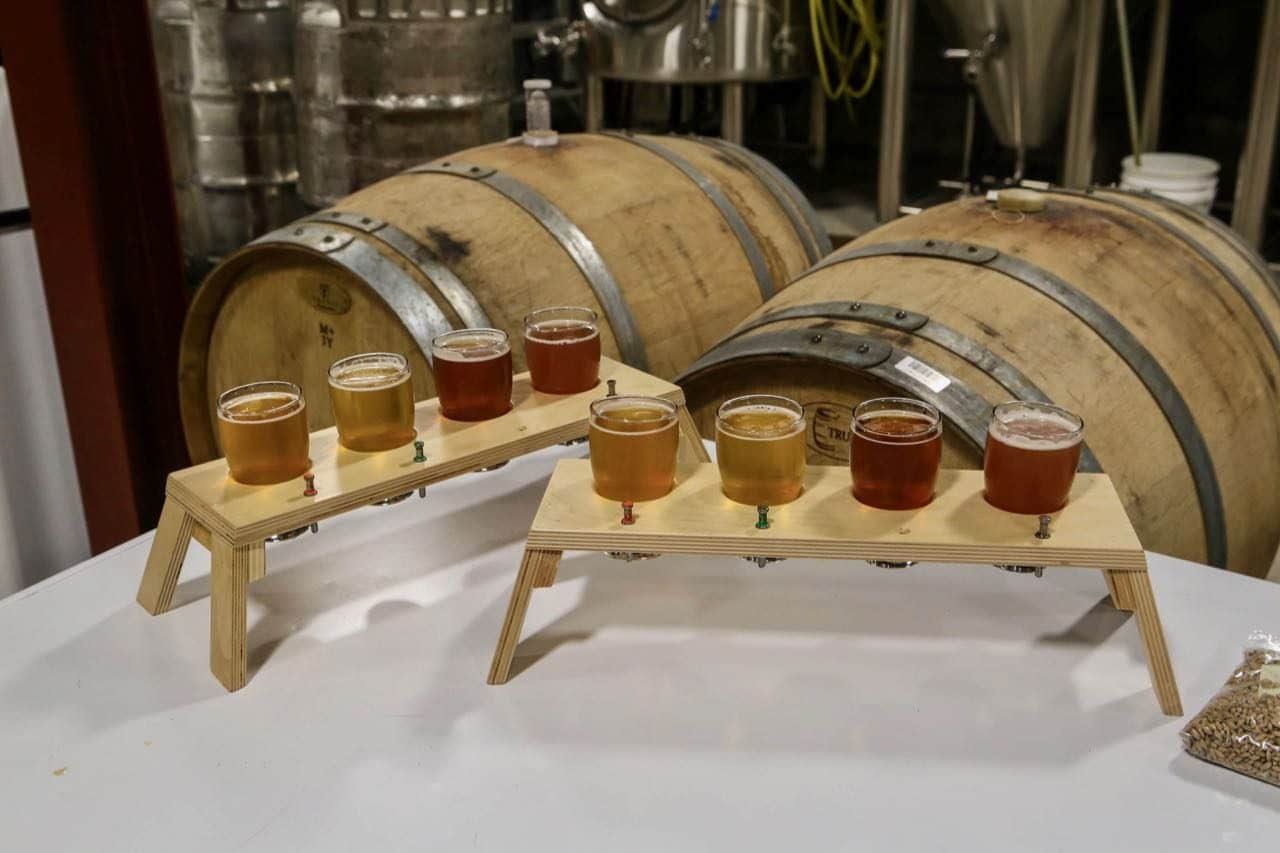 A tour of Jobsite Brewing is one of the best things to do in Stratford for Ontario craft beer fans.