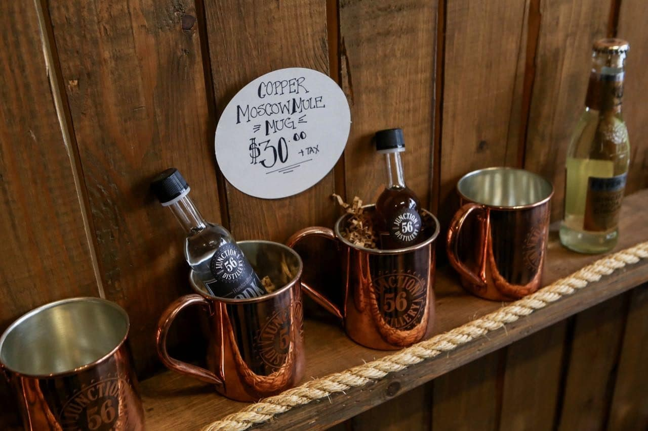 Junction 56 Distillery is the only craft spirit producer in Stratford, Ontario.