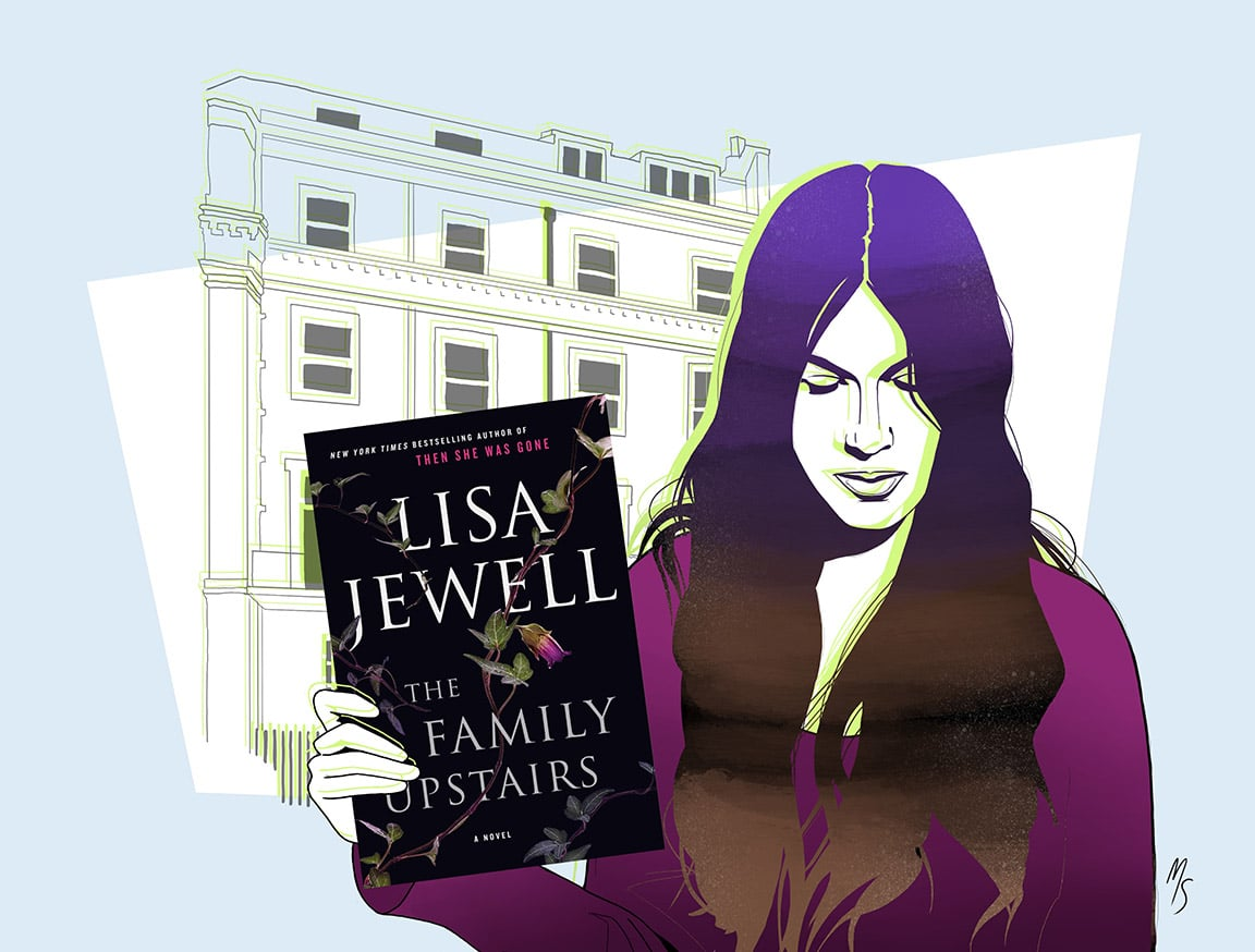 The Family Upstairs by Lisa Jewell.