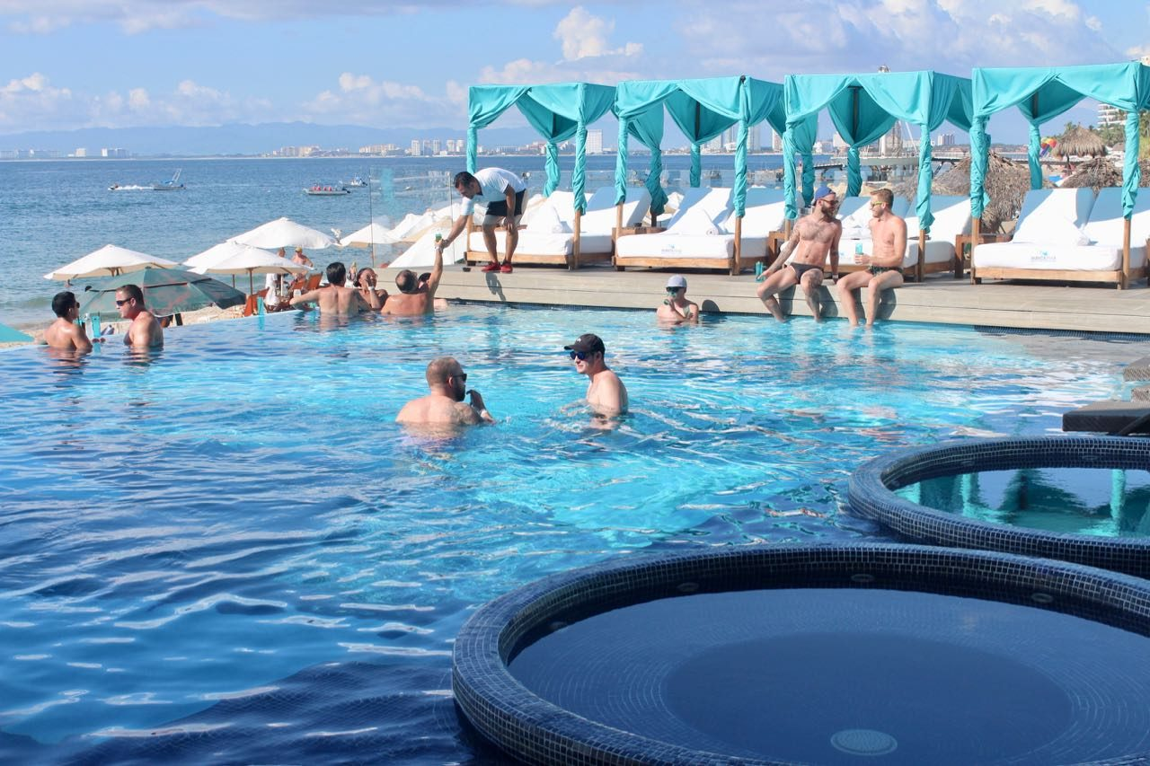 Mantamar is Puerto Vallarta's best gay beach club.