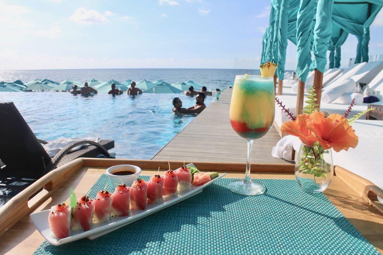 Mantmar Beach Club offers the best Puerto Vallarta sushi restaurant.