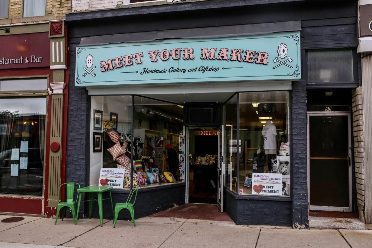 Meet Your Maker Gallery is one of Stratford's best gift shops.