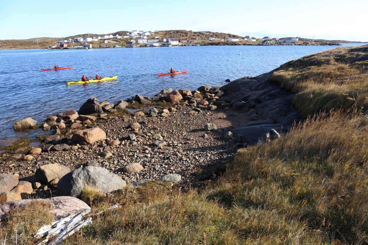 Enjoy kayaking or biking during your Newfoundland cruise.