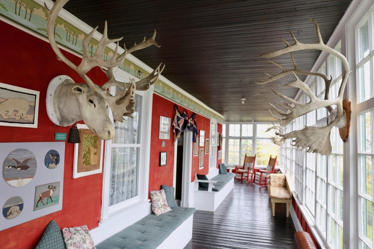Taxidermy fans will love the quirky interior at Grenfell House Museum in St. Anthony.