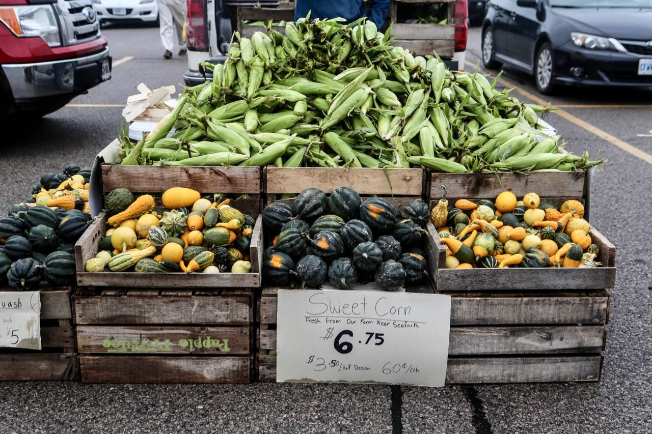 Stratford Farmers Market is a must for foodies visiting on the weekend.