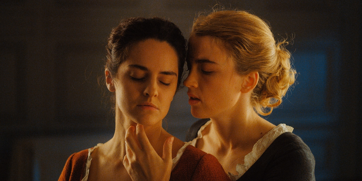 Noémie Merlant and Adèle Haenel in lesbian love story Portrait of a Lady on Fire.