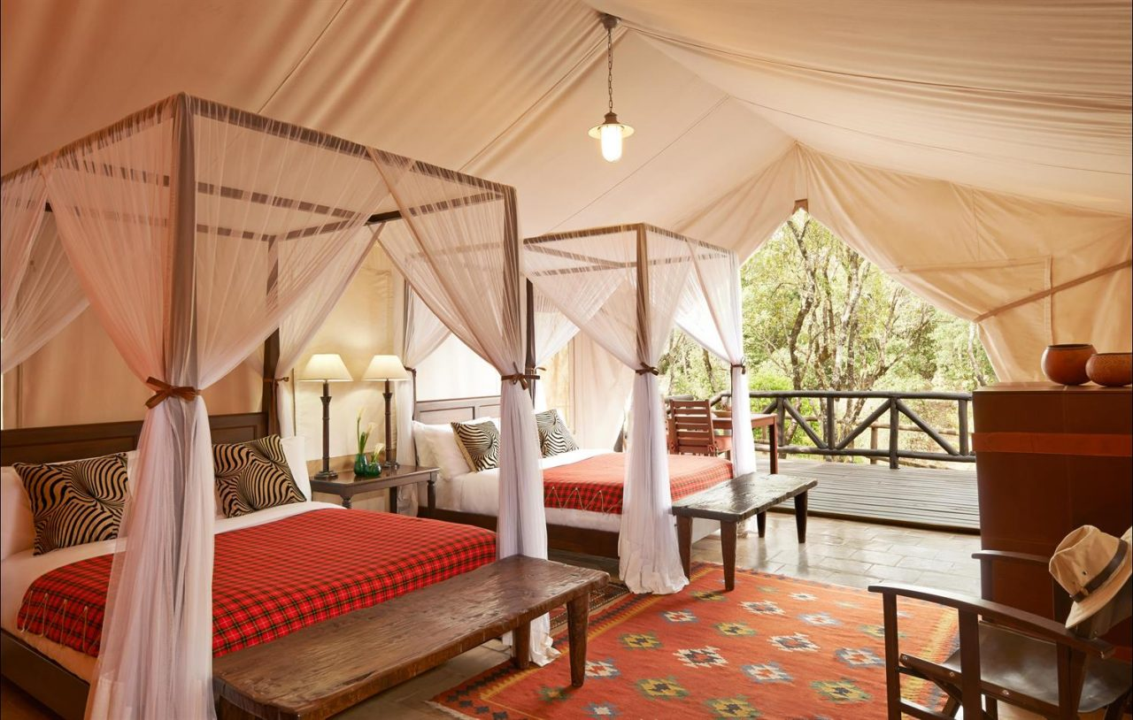 Honeymoon in Kenya at Fairmont Mara Safari Club.