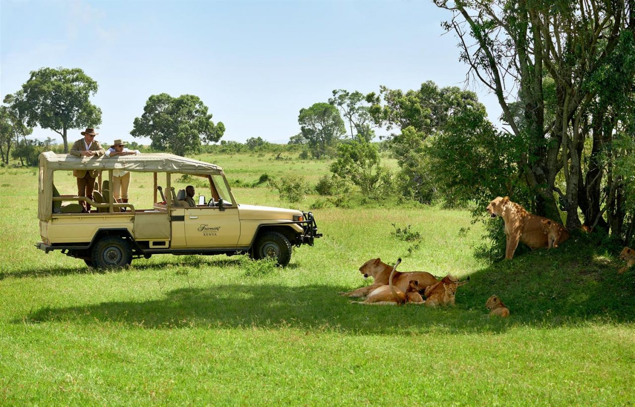 Enjoy an unforgettable safari with Fairmont on a honeymoon in Kenya.