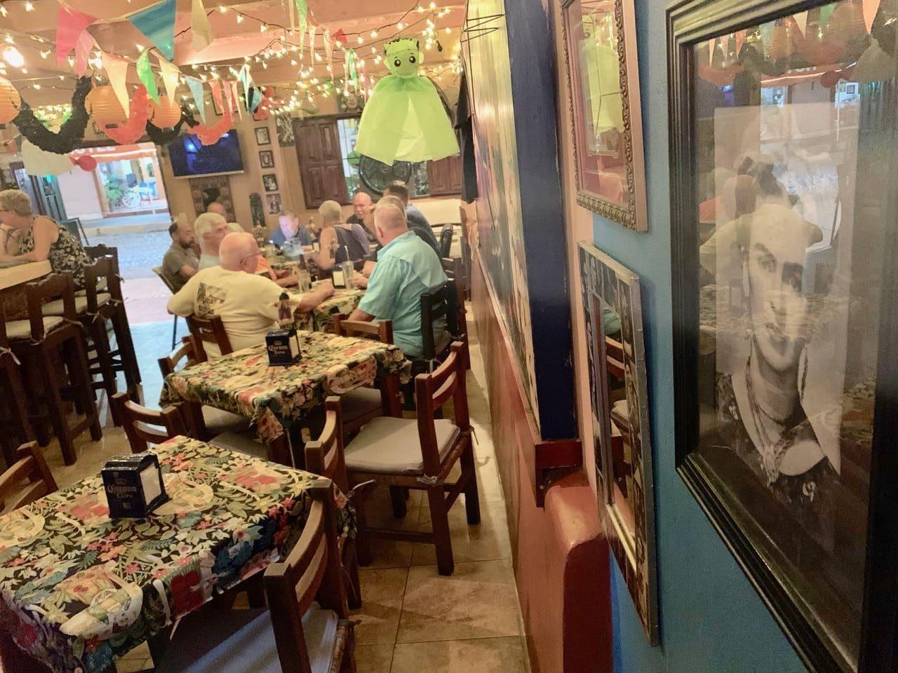 Bar Frida is a local gay bar and restaurant in Puerto Vallarta.