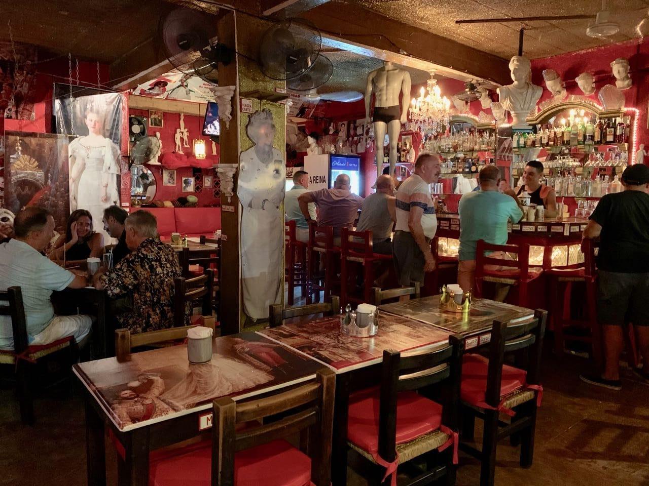 Bar Reinas is a must-visit for queer Queen Elizabeth fans.