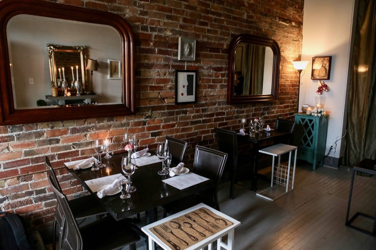 Bijou is the best French restaurant in Stratford, Ontario.