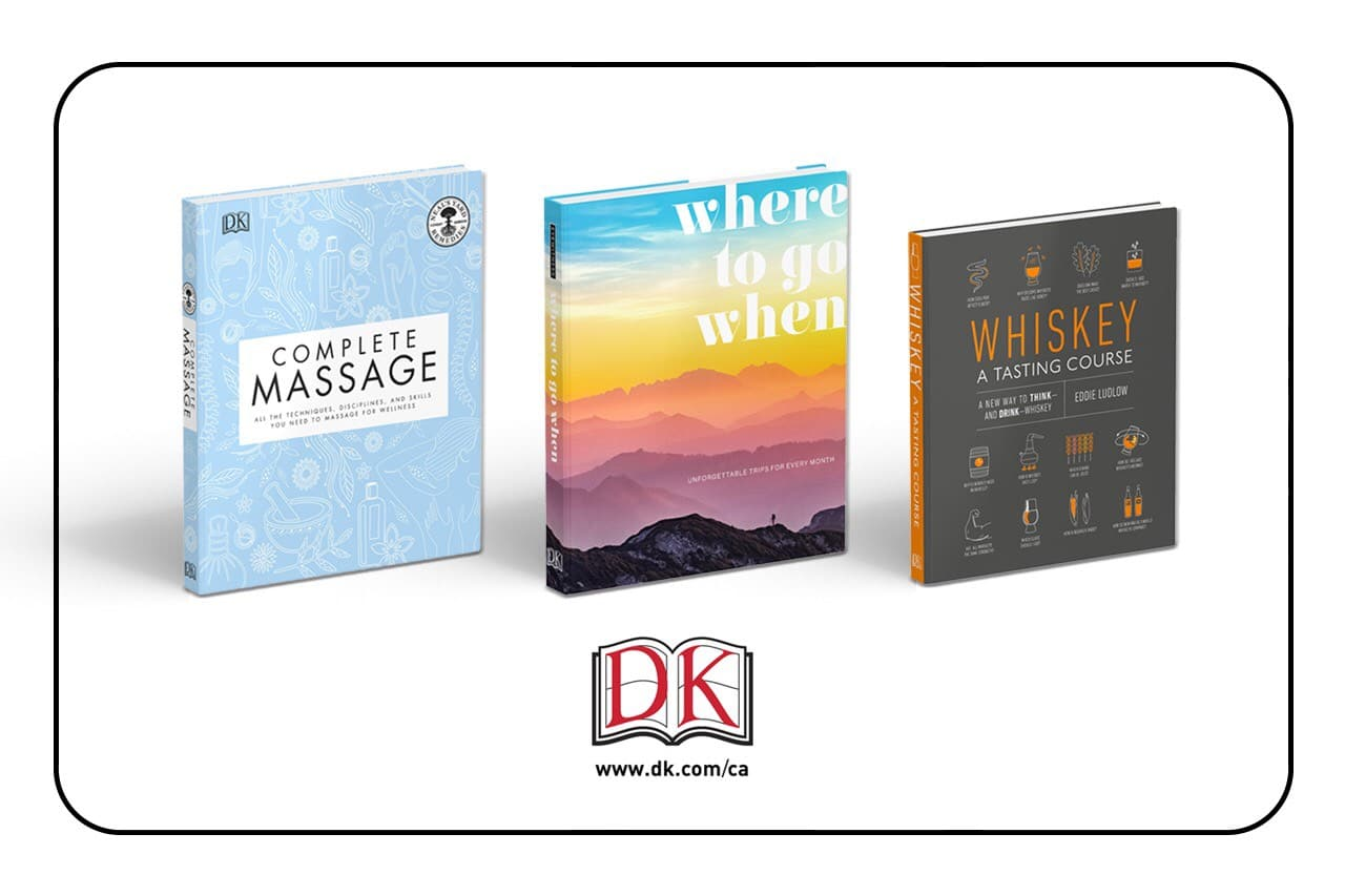 DK Publishing produces beautiful books on travel, food, drink and much more!
