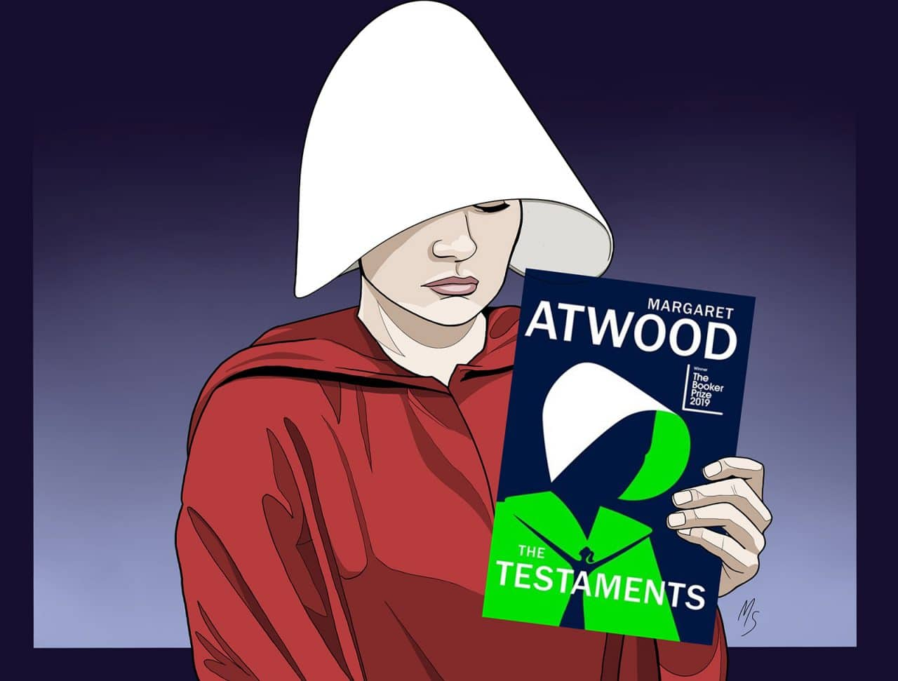 The Testaments is Margaret Atwood's sequel to The Handmaid's Tale