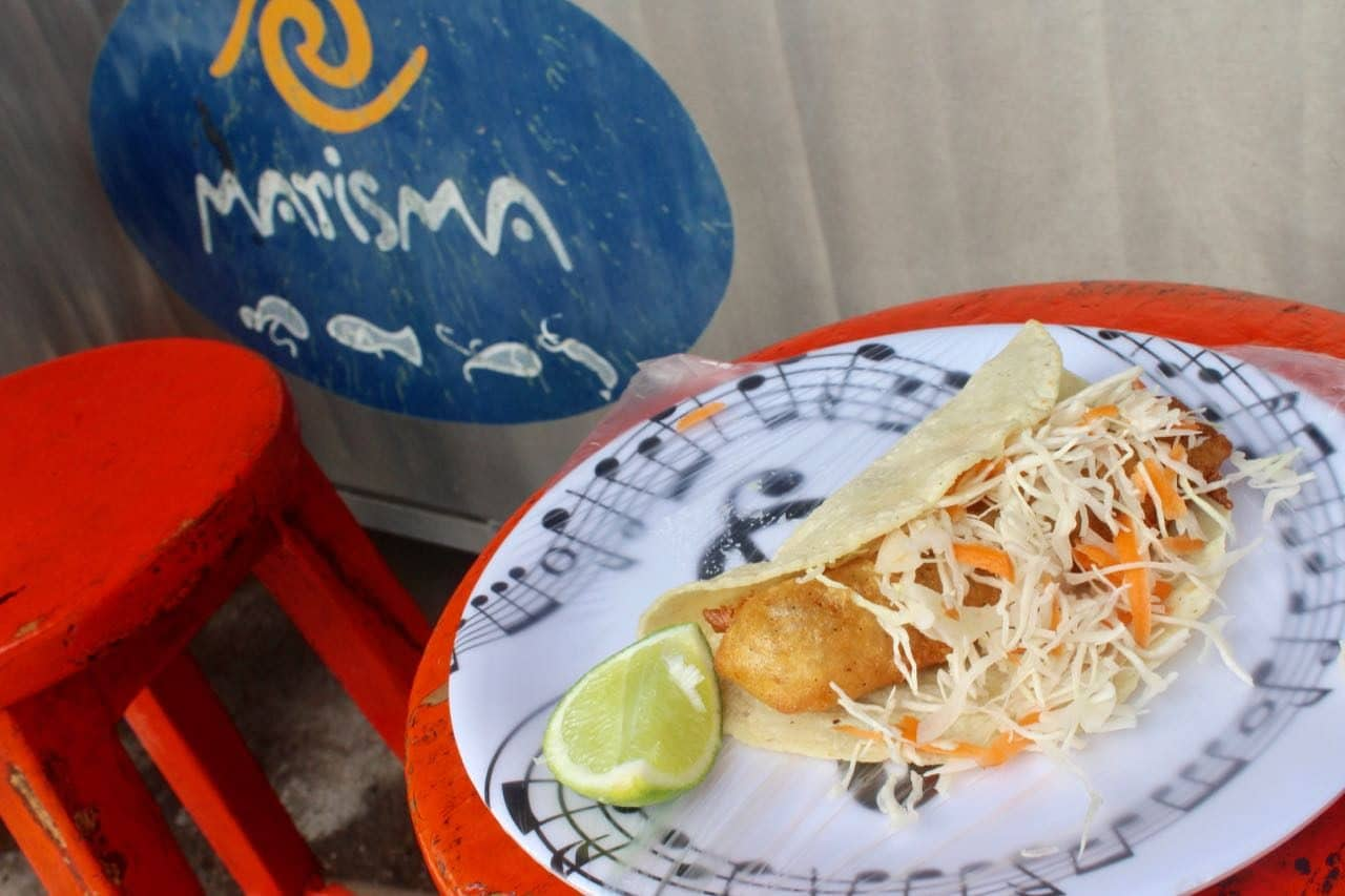 Best Tacos in Puerto Vallarta: Enjoy Baja-style battered fish at Marisma.