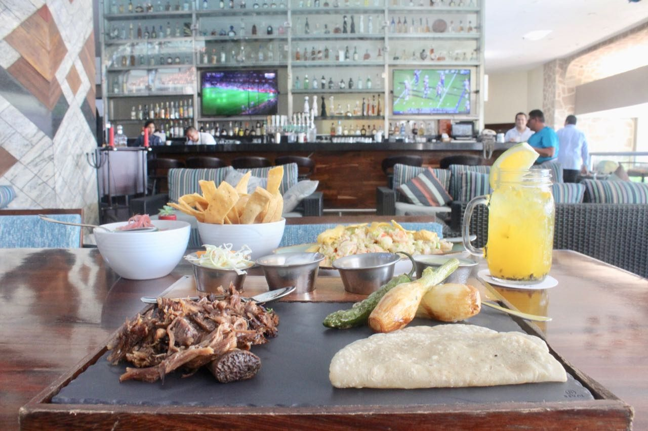 Enjoy DIY taco time at Marriott Resorts Ceviche & Tequila Bar.