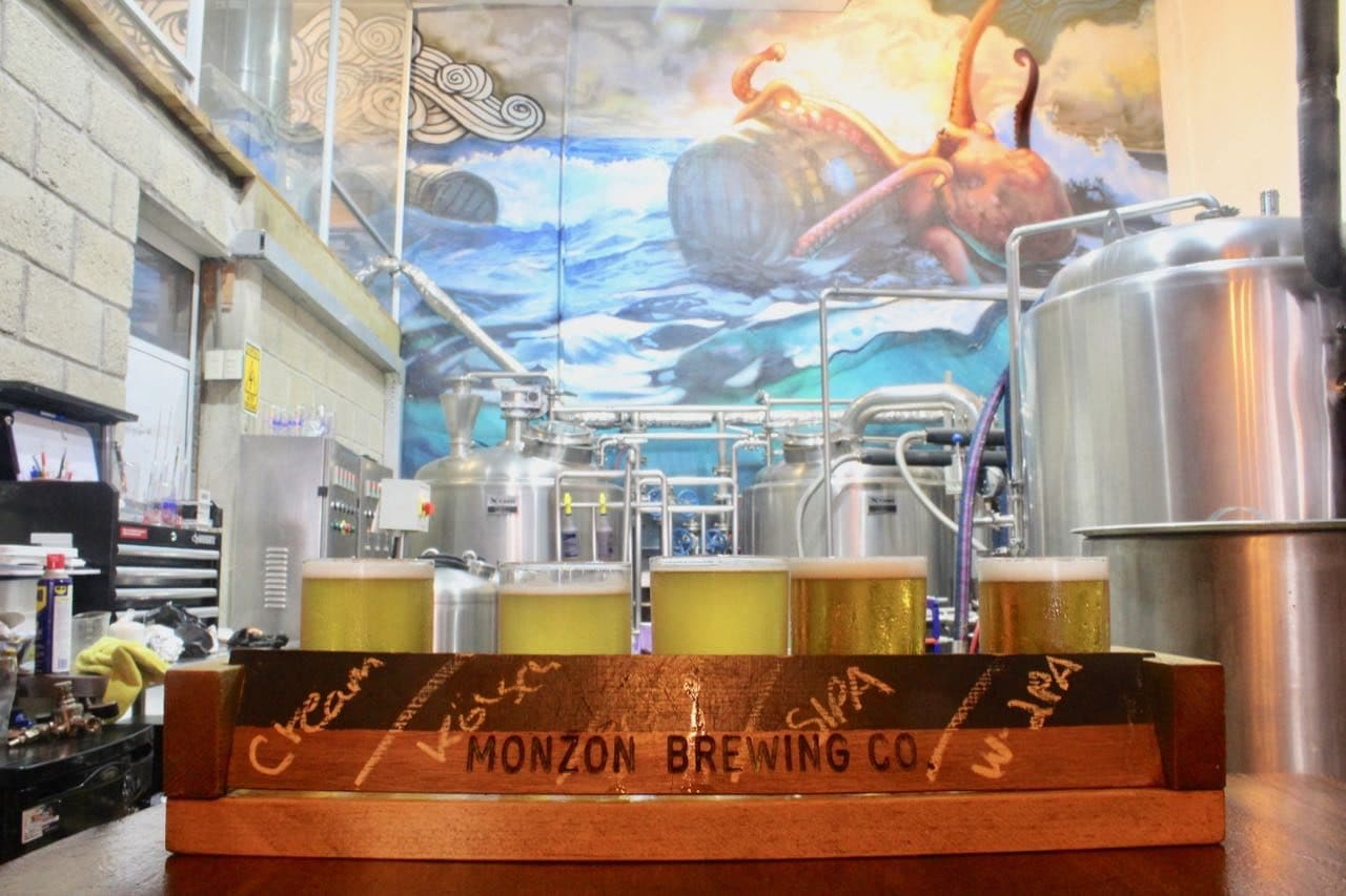 Gay Puerto Vallarta: Sip the best craft beer at Monzon Brewing Company.