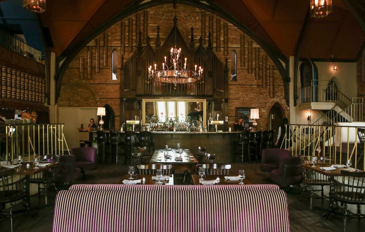 Revival House is located in an old church and serves one of Stratford's best brunch menus.