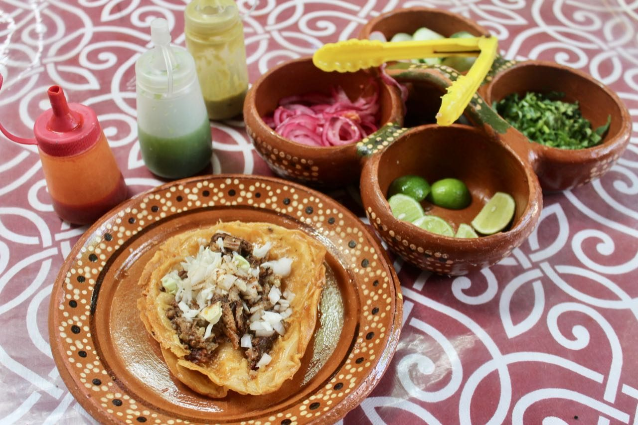 Birrieria Robles serves the best birria goat tacos in Puerto Vallarta.