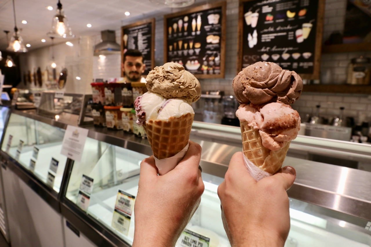 Summer's Ice Cream is the best parlour in Yorkville.