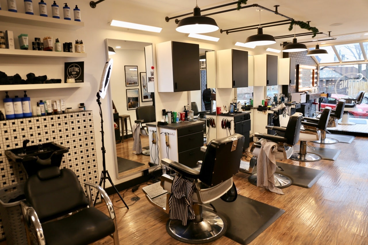 Toronto Barber Shop: The Fitting Room is the best barber on Dundas Street West.