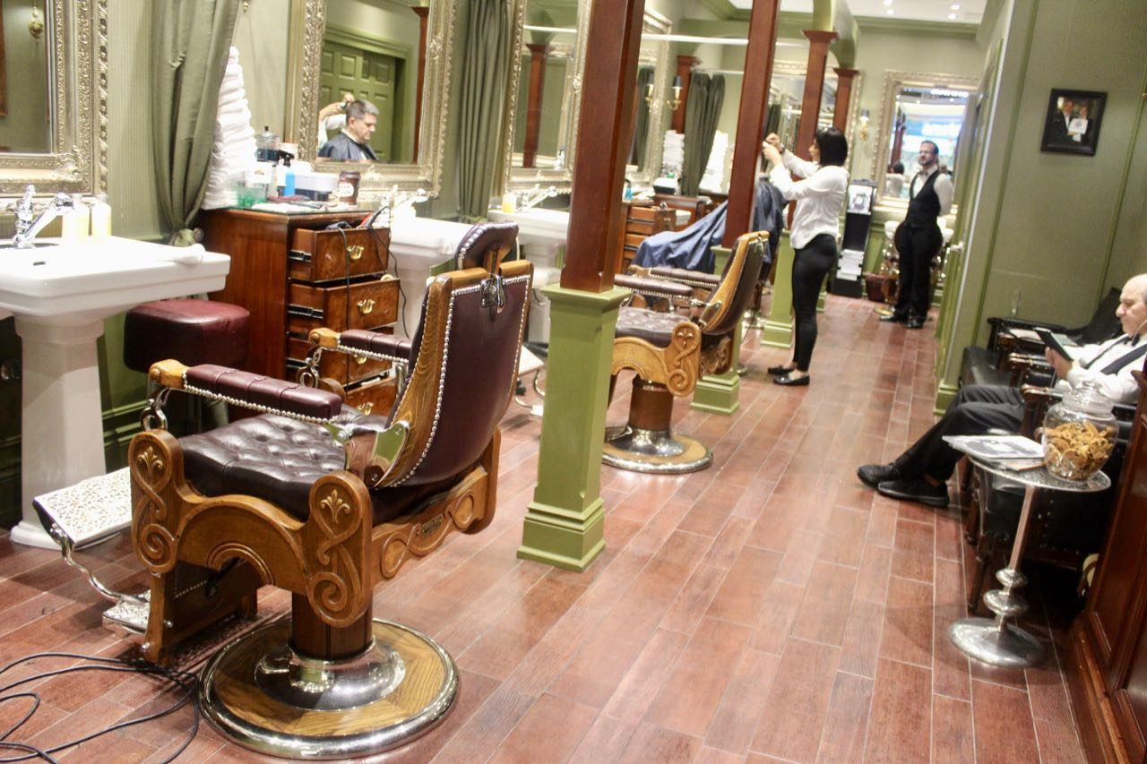 Truefitt & Hill is the go-to Toronto barber shop for Bay Street suits.