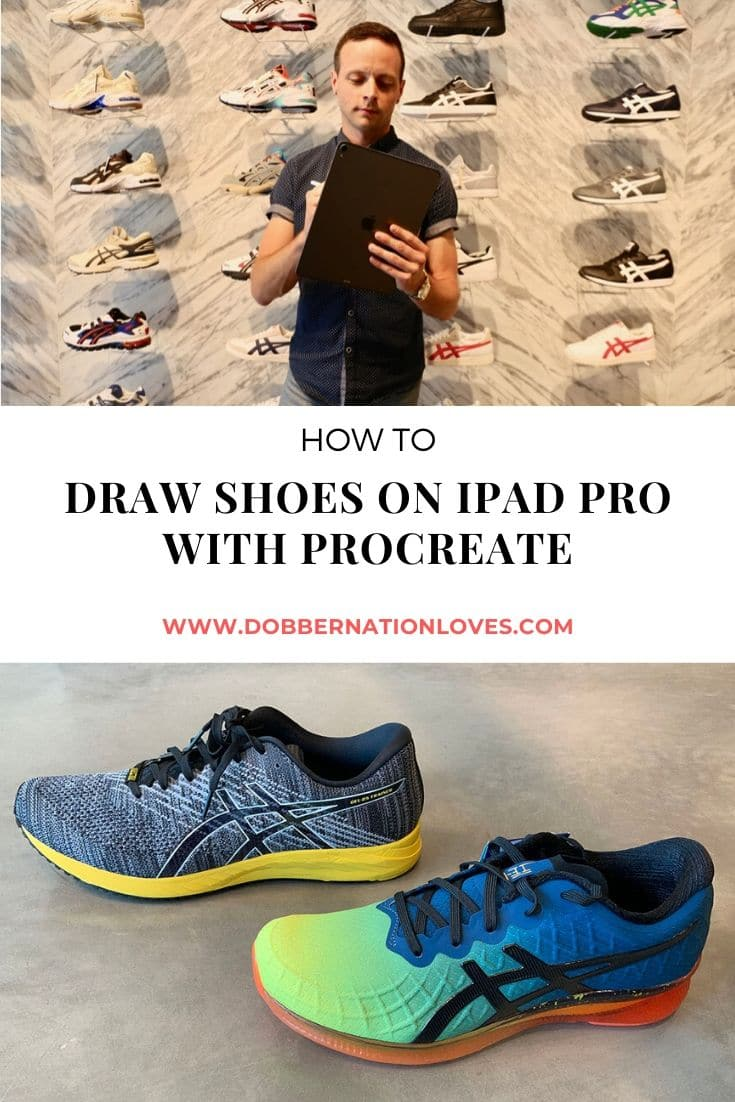 Procreate Tutorial How To Draw Shoes Dobbernationloves