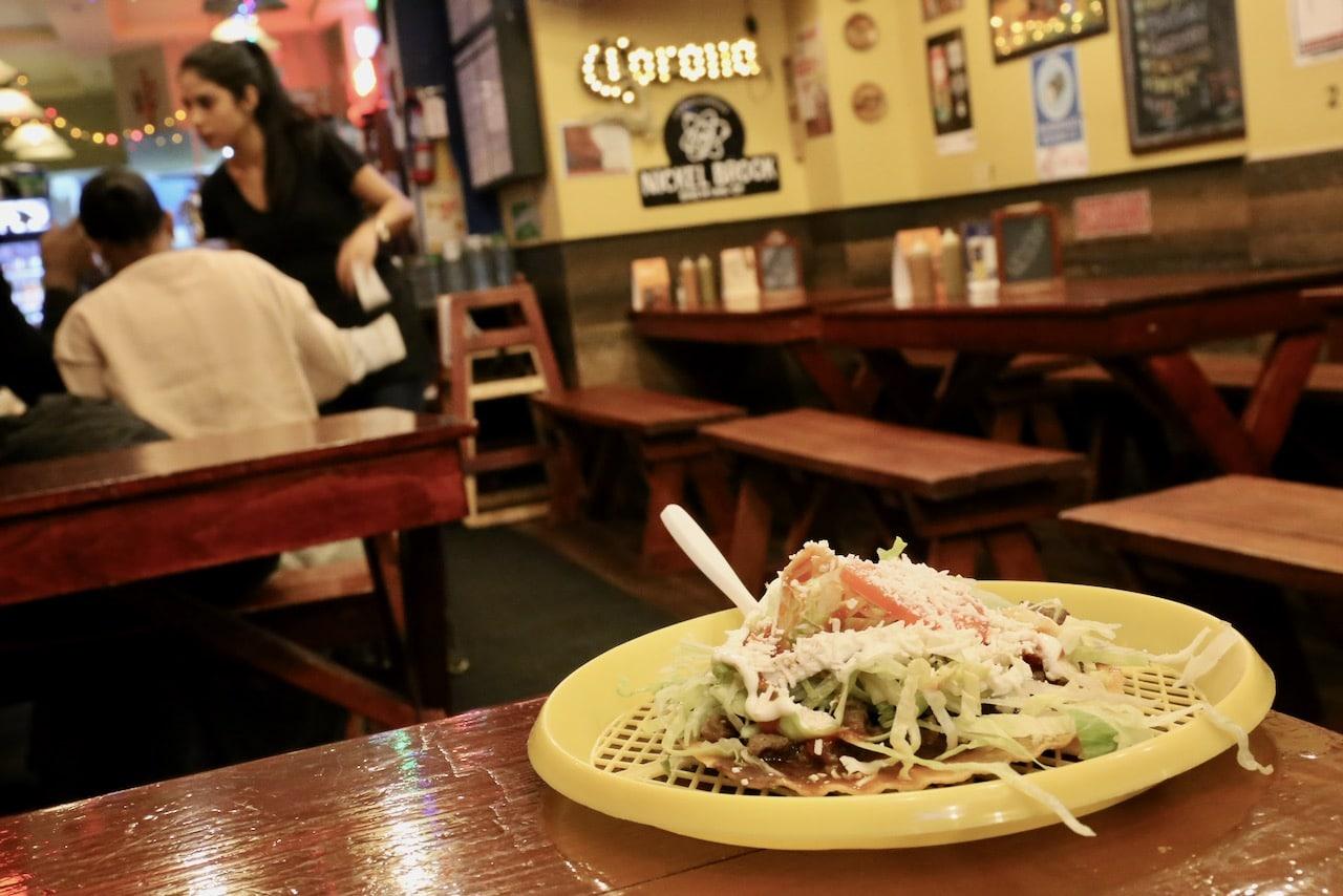Tacos El Asador is a popular Mexican restaurant in Toronto on Bloor Street West.