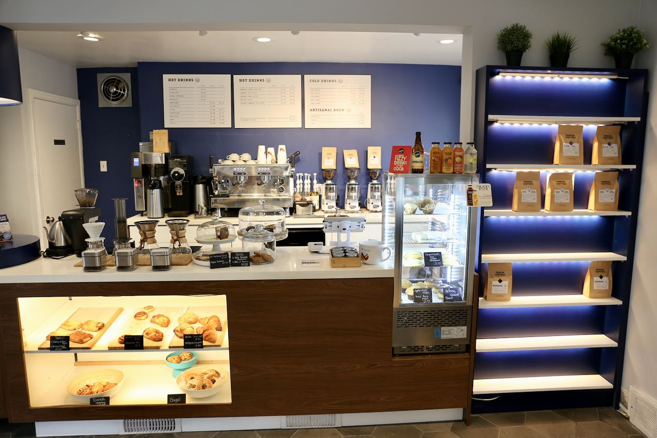 Verda Central on Kerr Street is ranked as the best coffee roaster in Oakville.