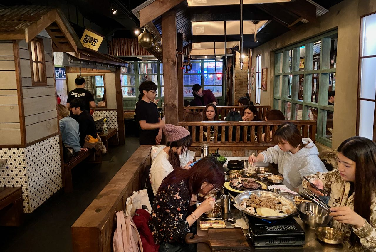 Toronto Steakhouses: Daldongnae is a Korean BBQ restaurant on Bloor Street.