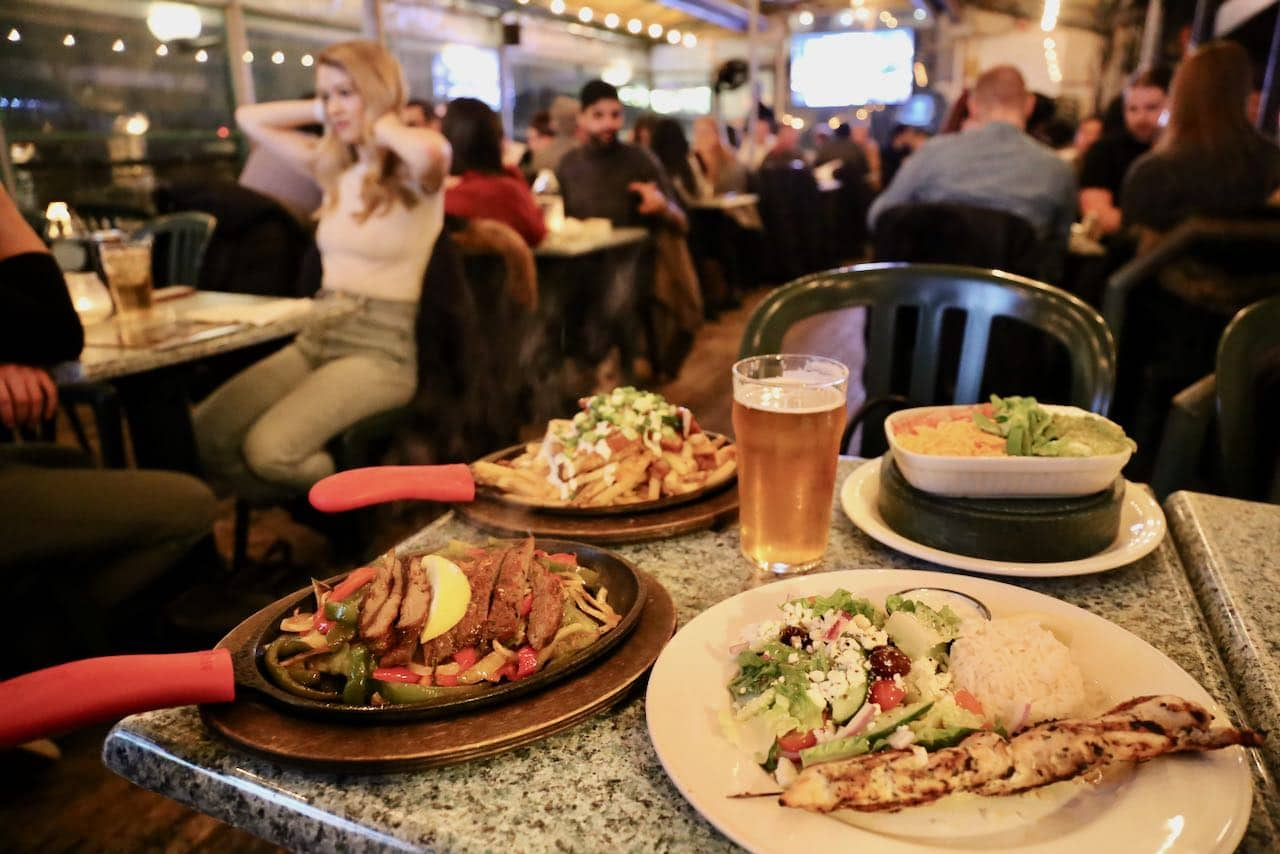 Yorkville Restaurants: Hemingway's is an iconic New Zealand-inspired pub featuring 4 patios!