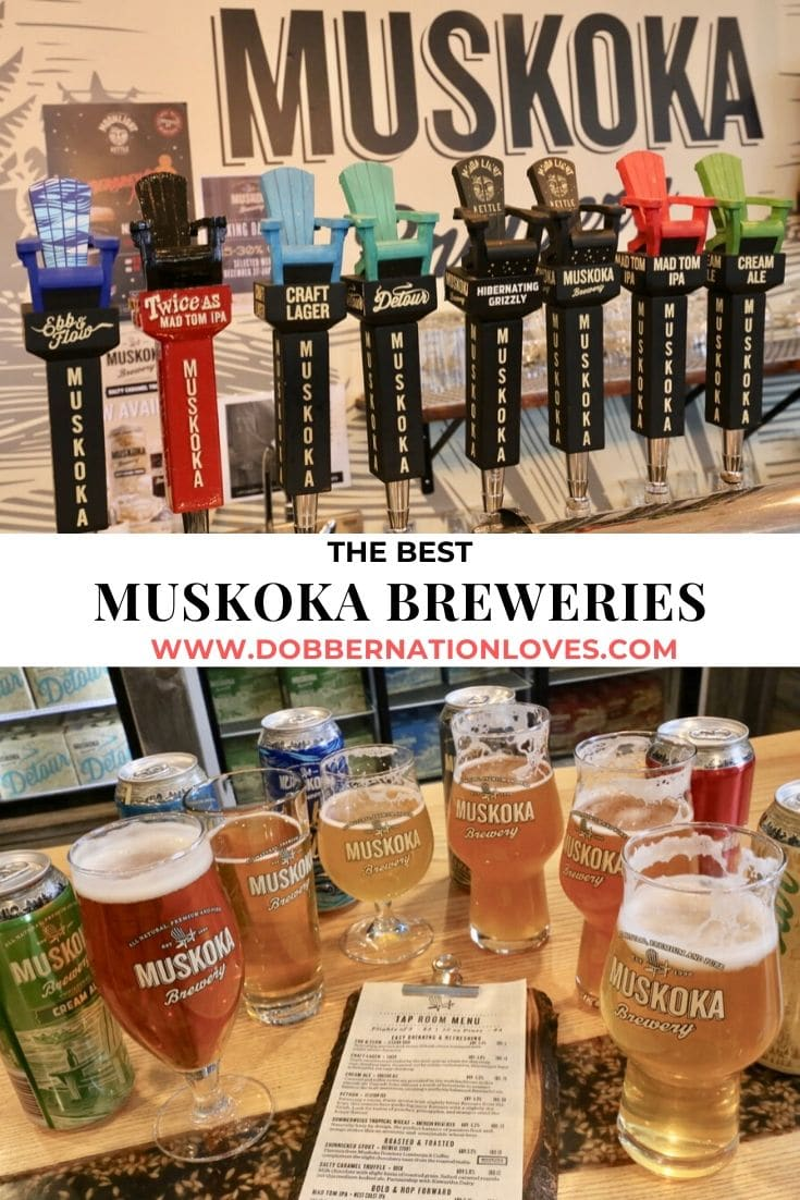 Save our Muskoka Breweries guide to Pinterest.