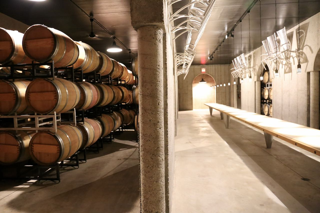 Niagara on the Lake Wineries: Visit Pillitteri Estates Winery's underground barrel cellar and tasting room.