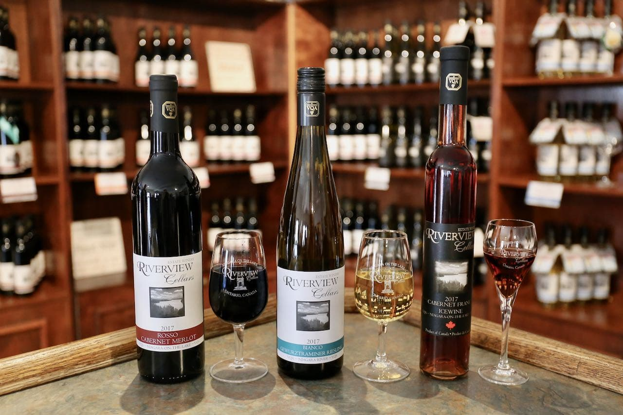 Niagara on the Lake Wineries: Enjoy an intimate tasting at Riverview Cellars.