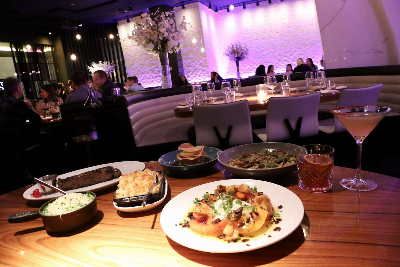 Yorkville Restaurants: STK Toronto offers an elegant steakhouse vibe.