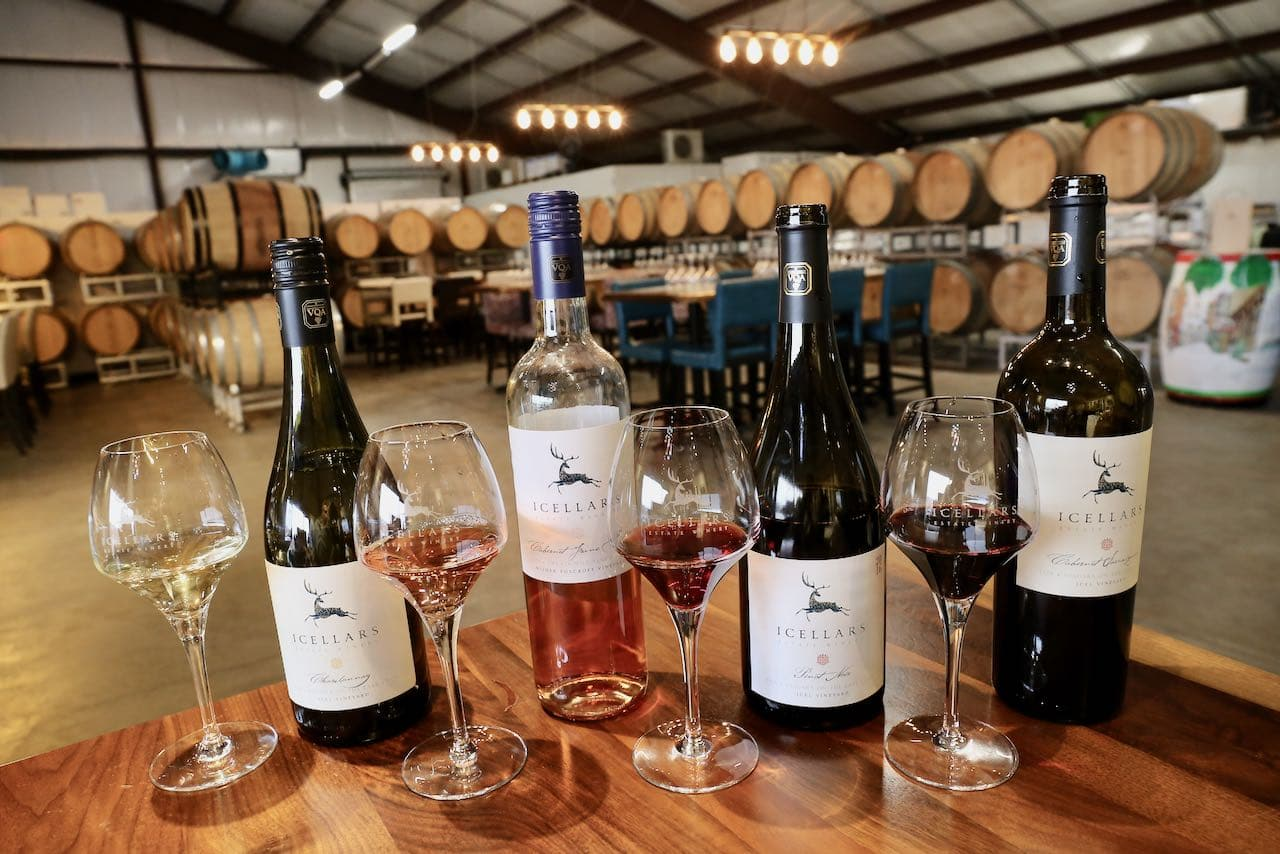 Icelllars Estate Winery offers some of Niagara on the Lake's best bottles.