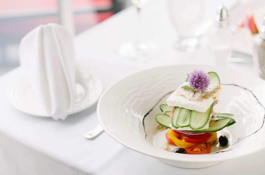 Restaurants in Muskoka: Lighthouse45 Restaurant is a fine dining concept at Rawley Resort.