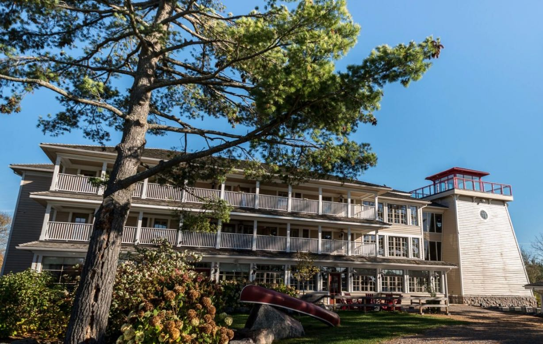 Muskoka Spas: Lakehouse Spa is located in Port Severn at Rawley Resort.